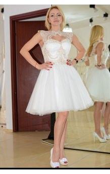 Rochie de mireasa Pass 2 scurta - Printesa