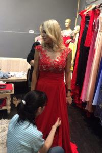 croitorie rochii seara Alice Design