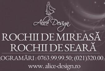 Alice Design - rochii mireasa si de seara