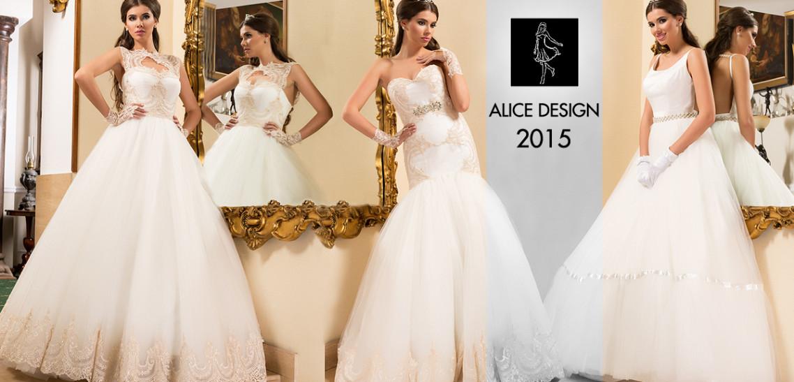 rochii de mireasa 2015 Alice Design